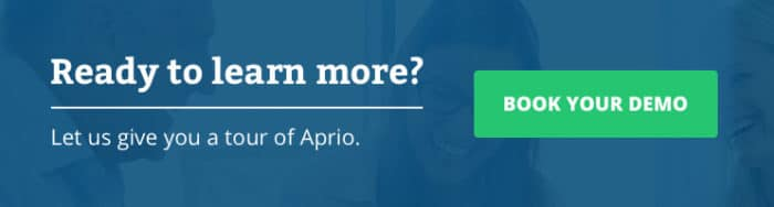 Ready to learn more? Book an Aprio demo