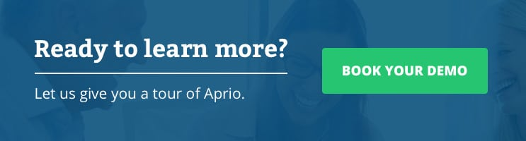 Book an Aprio demo