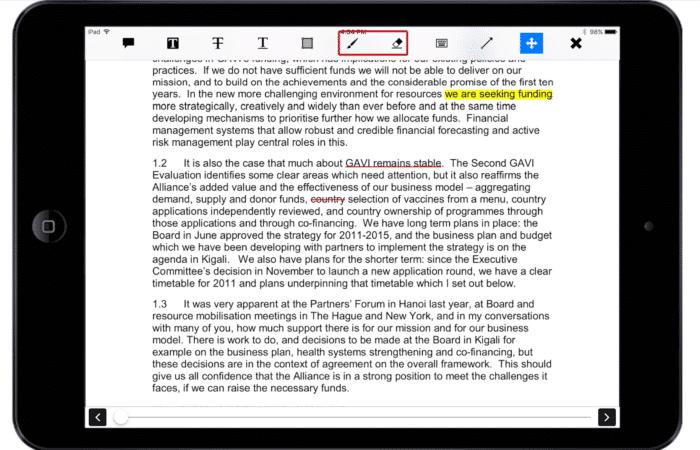 Sticky-notes-highlight-underline-strikethrough-write-erase-arrows-ipad-image