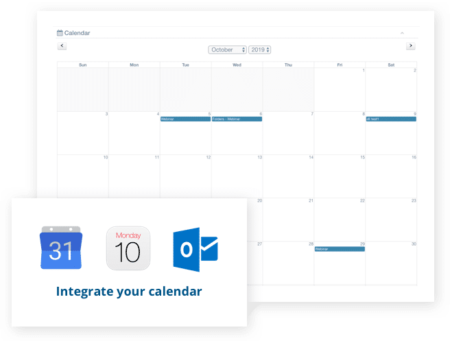 Integrate your calendar with Aprio board portal software
