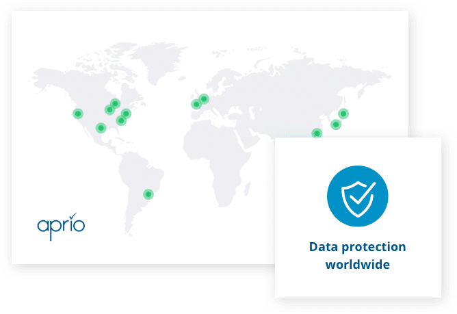 Data protection worldwide with Aprio board portal software