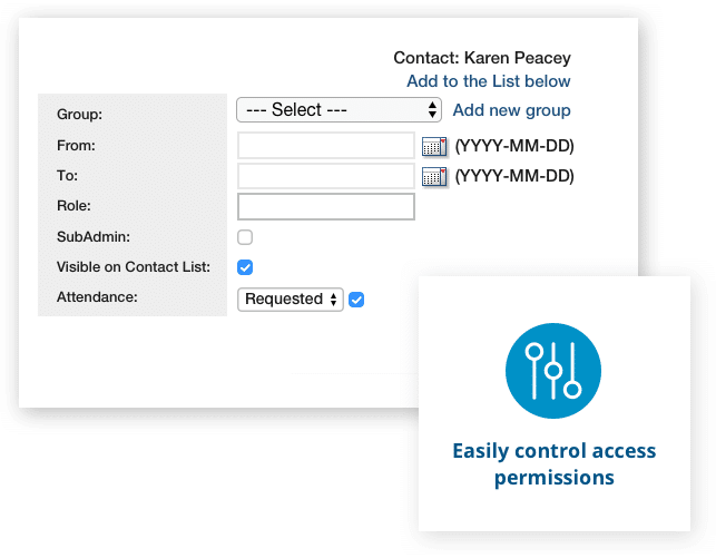 Easily control access permissions with Aprio board portal software