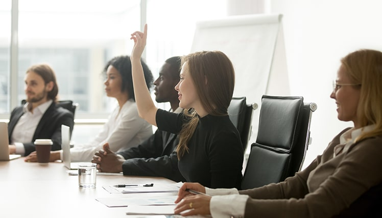 Ways to engage board members - voting at board meeting