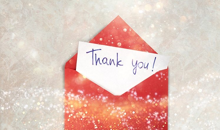 Thank you for the great year from Aprio