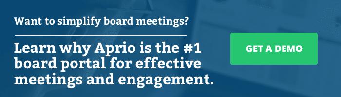 Want to simplify board meetings?