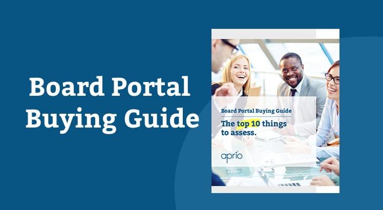 Board portal buying guide