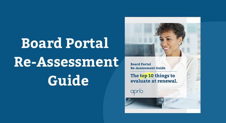 Board portal re-assessment guide