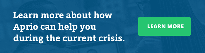 Learn how Aprio can help you during the COVID-19 crisis.