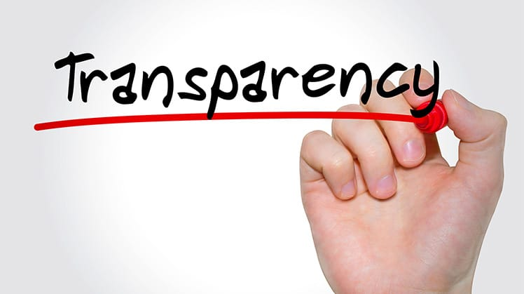 Board and organizational transparency