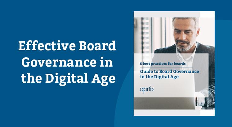 modern board governance